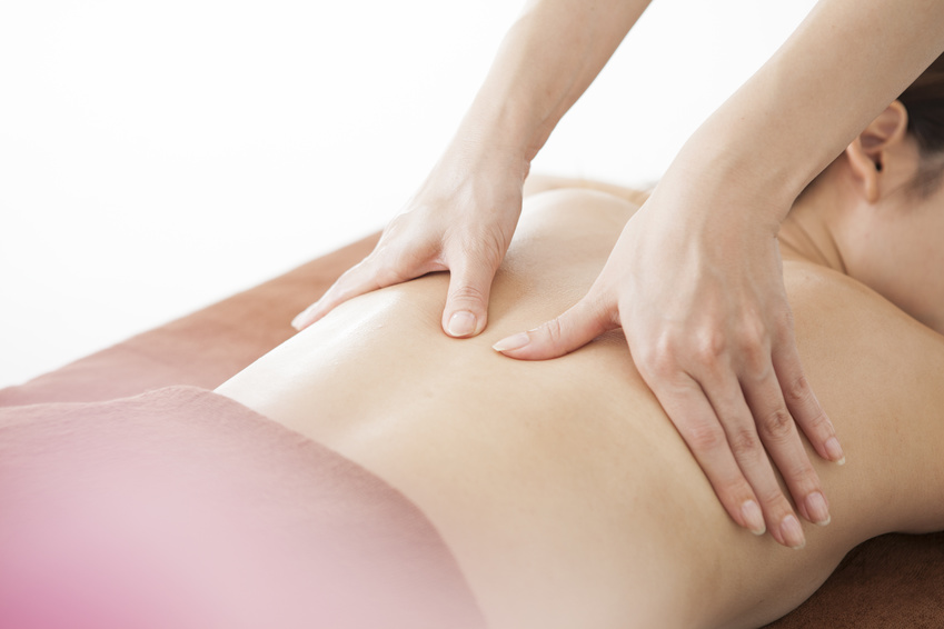 Aromatic oil massage
